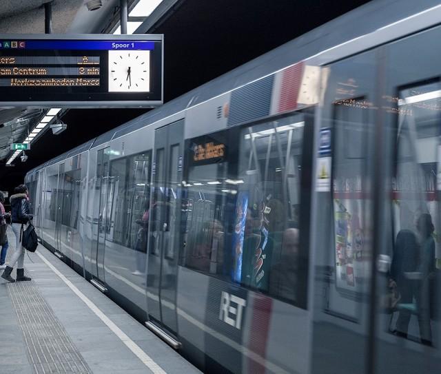 U Bahn Rotterdam